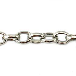 Box Chain, also known as Belcher Chain 10x7mm - Jewellery Chain