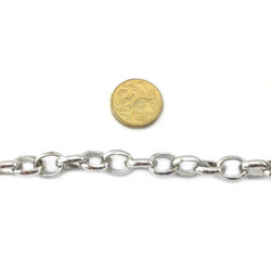 Box Chain, also known as Belcher Chain 12x15mm