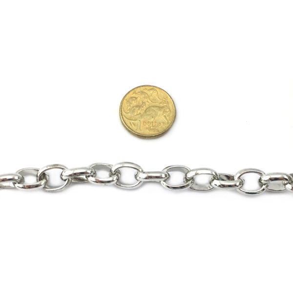 Box Chain, also known as Belcher Chain 12x15mm