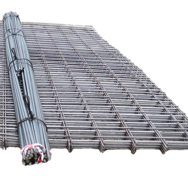 Reinforcing mesh and rebar