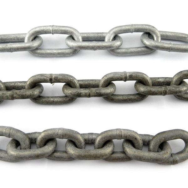 Welded Link Chain Galvanised