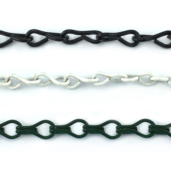 Jack Chain Powder Coated Black Green white